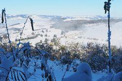 gîte la fournarie - paysage hiver
